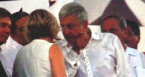 Cecilia Sánchez fue regañada por AMLO