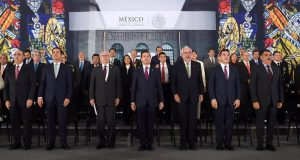 Moreno Cárdenas asiste al 75 aniversario de la Secretaría de Salud