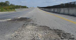Se realizan reparaciones en la Campeche-Mérida