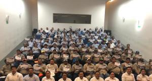 Trabajadores de Unacar reciben constancias