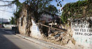 Casas abandonadas un grave peligro