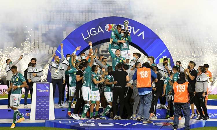 León conquista la Liga MX y es el campeón del Guardianes 2020. - Campeche  HOY