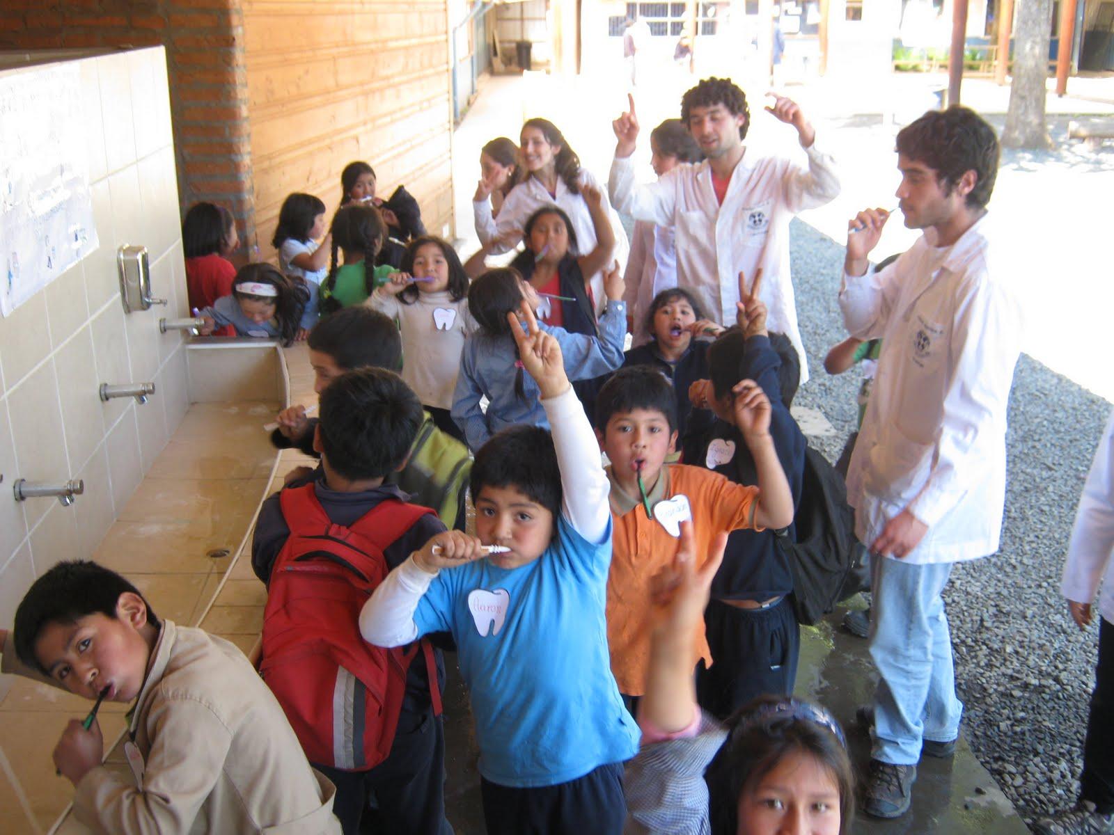Programa de Higiene Bucal para primarias