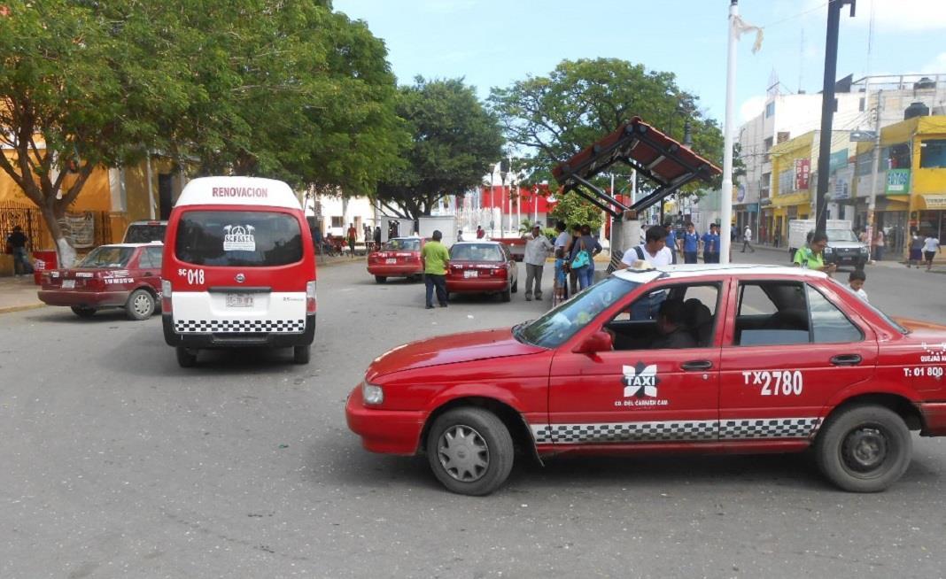 Taxista se rehúsan a utilizar la APP